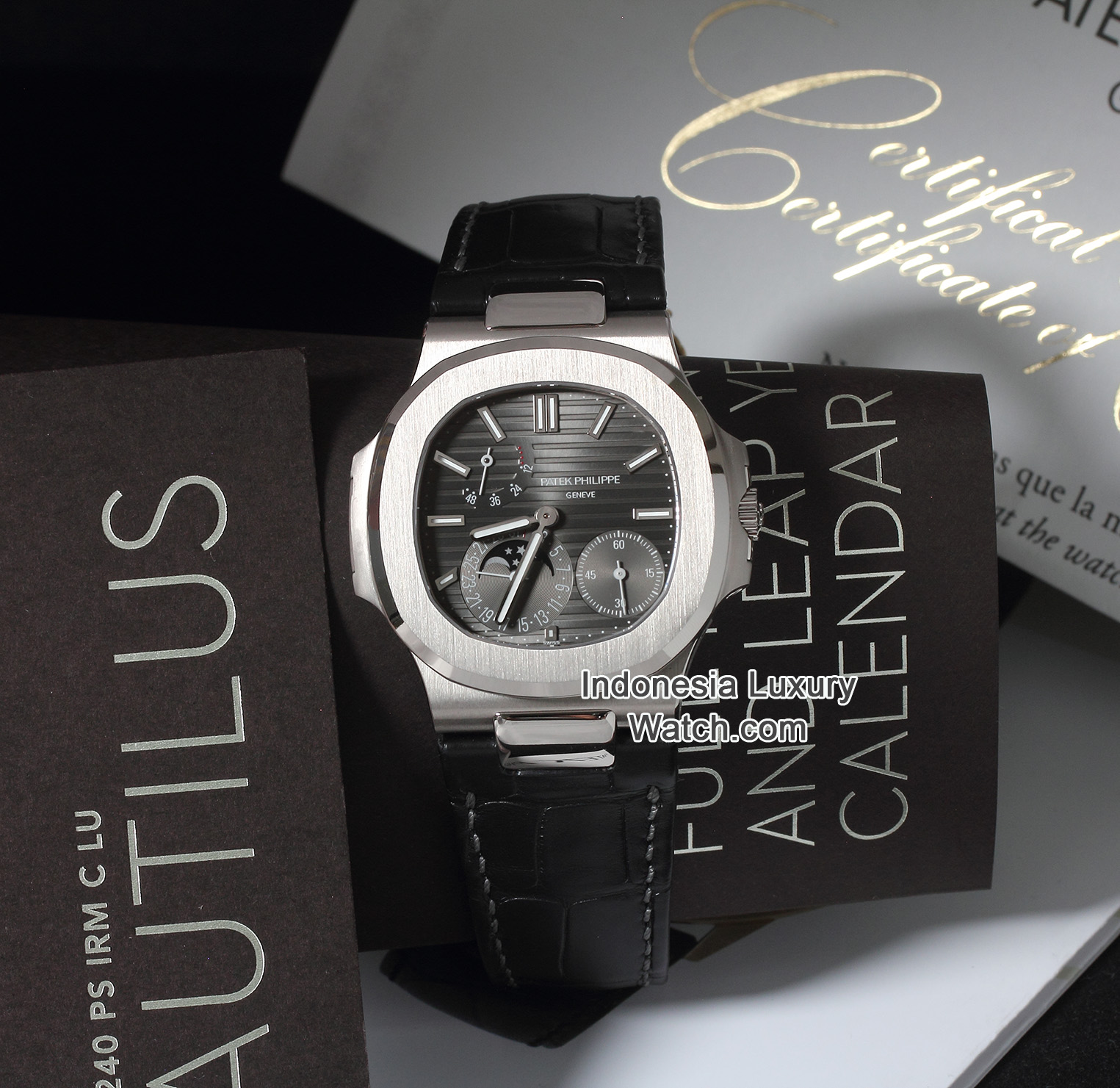 PATEK PHILIPPE Nautilus 5712G (White Gold) – New Condition