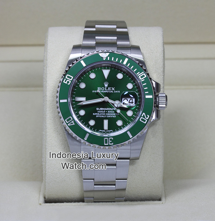 Rolex Submariner Green Bezel Hulk