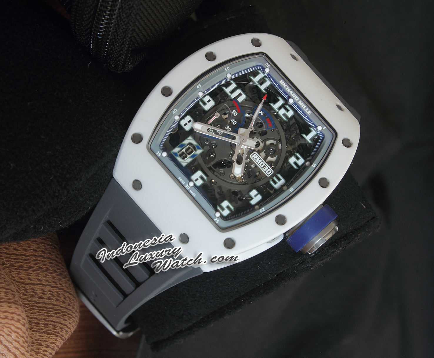 Richard Mille 030 Limited Edition 50pcs Polo St.Tropez – White Rush