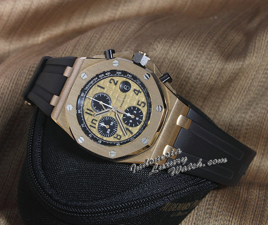 Audemars piguet Royal Oak Offshore Chronograph REF.26470OR Honey Gold