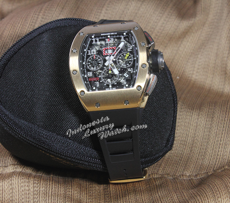 Richard Mille 011 Rose Gold Felipe Massa