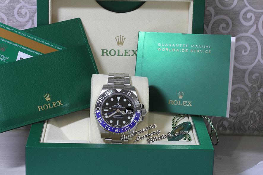 Rolex GMT-Master II – 116710BLNR – Batman