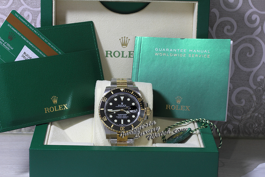 Rolex Submariner 116613LN – Date Two-Tone – Gold & Steel